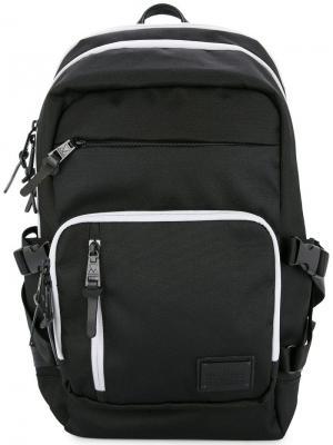 Рюкзак с ремешками Makavelic. Цвет: черный