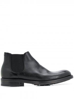 Doucals ботинки с эластичными вставками Doucal's. Цвет: черный