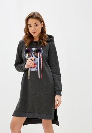 Платье Winzor. Цвет: серый