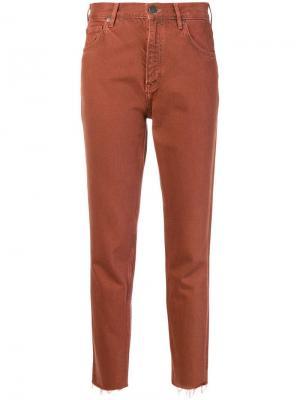 Джинсы скинни Mih Jeans. Цвет: красный