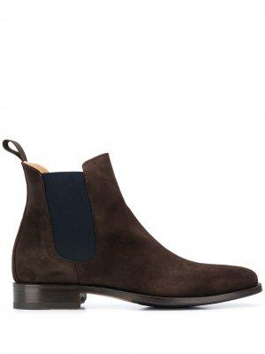 Ботинки челси Giancarlo Scarosso. Цвет: коричневый