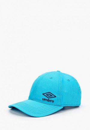 Бейсболка Umbro. Цвет: голубой