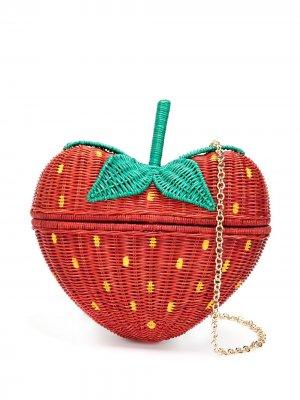 Клатч Strawberry SERPUI. Цвет: красный