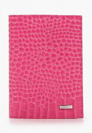 Обложка для документов Fabretti. Цвет: розовый