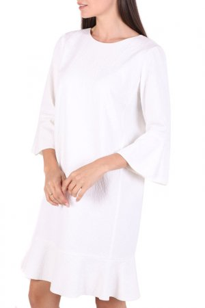 Платье Chapurin. Цвет: белый