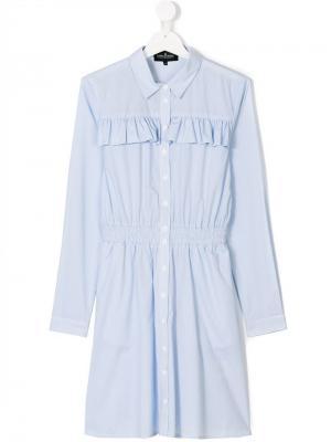 TEEN Cali shirt dress Little Remix. Цвет: синий