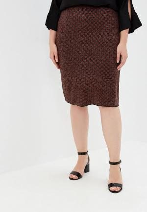 Юбка Milana Style. Цвет: красный