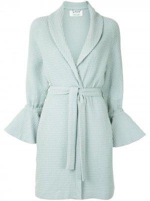 Пальто-халат Thursday 0711. Цвет: зеленый