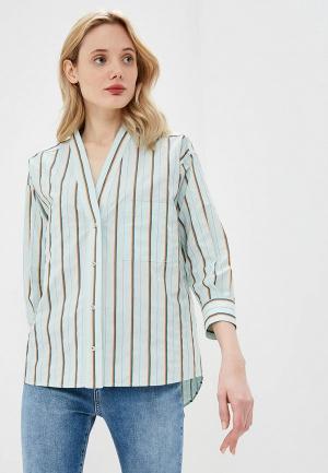 Блуза Pinko. Цвет: бирюзовый