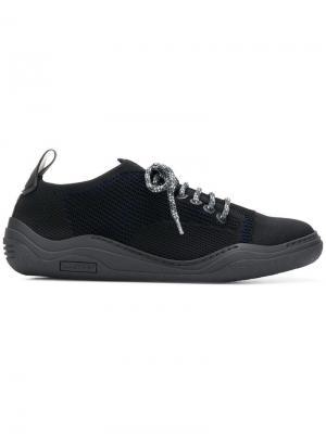 Кроссовки в стиле casual Lanvin. Цвет: черный