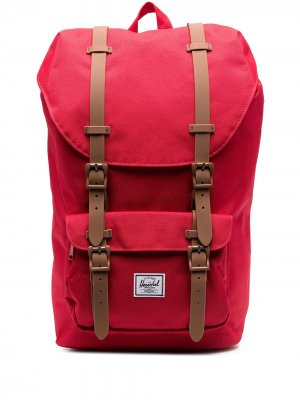 Рюкзак с застежкой на пряжке Herschel Supply Co.. Цвет: красный