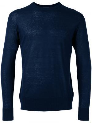Пуловер Maglia Ballantyne. Цвет: синий