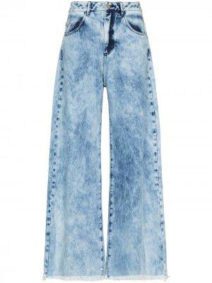 MarquesAlmeida укороченные джинсы reM'Ade Marques'Almeida. Цвет: синий