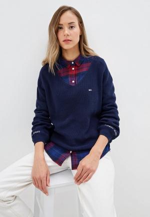 Пуловер Tommy Jeans. Цвет: синий