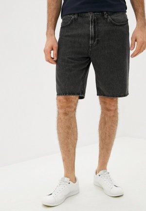 Шорты джинсовые Lee. Цвет: черный