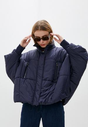 Куртка утепленная Jacob Cohen. Цвет: синий