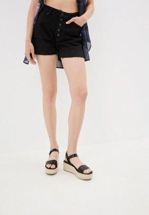 Шорты джинсовые Q/S designed by. Цвет: черный