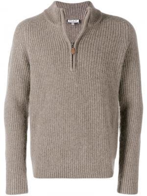 Ribbed pullover Paul & Joe. Цвет: коричневый