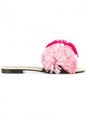 Мюли Bora Avec Modération. Цвет: розовый