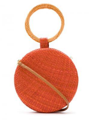 Сумка на плечо Serena SERPUI. Цвет: оранжевый