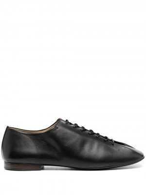 Туфли дерби на шнуровке Lemaire. Цвет: черный