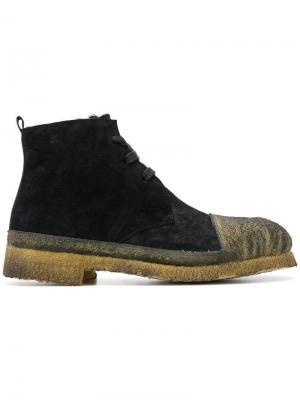 Contrast toe boots Rocco P.. Цвет: черный