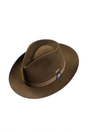 Шляпа PIERRE CARDIN. Цвет: оливковый