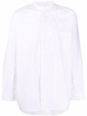 Stand-up collar shirt Isabel Benenato. Цвет: белый