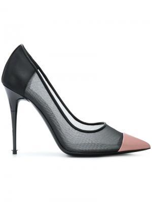 Туфли с заостренным носком Tom Ford. Цвет: черный
