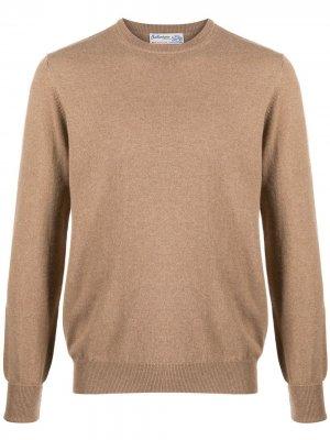 Кашемировый джемпер с длинными рукавами Ballantyne. Цвет: коричневый
