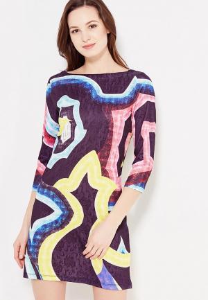 Платье Taya. Цвет: синий