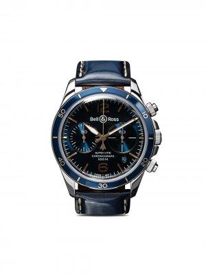 Часы BR V2-94 Aeronavale Bell & Ross. Цвет: голубой b голубой