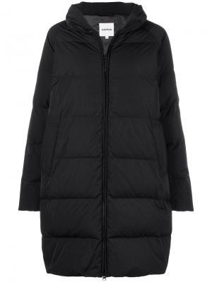 Oversized padded coat Aspesi. Цвет: черный