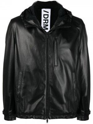Куртка с капюшоном Drome. Цвет: черный