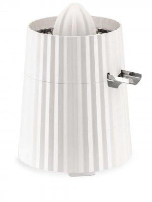 Электрическая соковыжималка Plissé Alessi. Цвет: белый