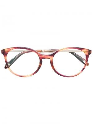 Круглые очки 2159 Tiffany & Co Eyewear. Цвет: розовый