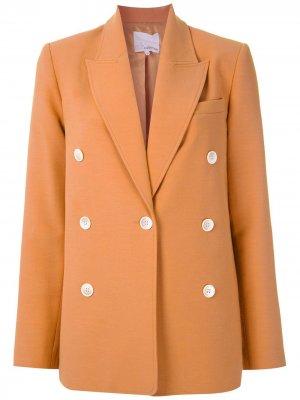 Блузка Ceci Nk. Цвет: оранжевый