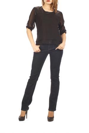 Блузка Mankato. Цвет: черный