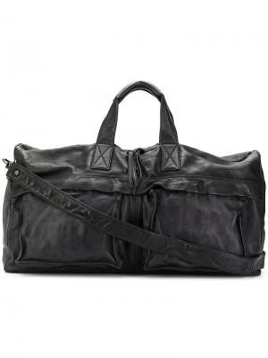 Большая дорожная сумка Officine Creative. Цвет: черный
