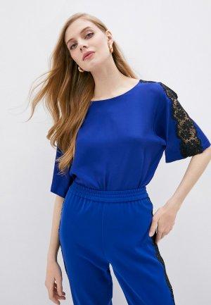 Блуза Boutique Moschino. Цвет: синий