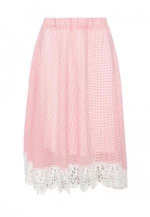 Юбка Brigitte Bardot. Цвет: розовый