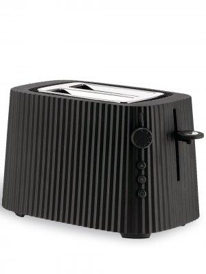 Тостер Plissé Alessi. Цвет: черный