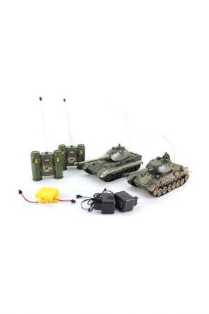 Танковый бой ПЛАМЕННЫЙ МОТОР. Цвет: зеленый