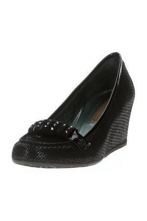 Туфли GIADA GABRIELLI. Цвет: черный