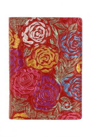 Обложка на паспорт Fiora More. Цвет: красный