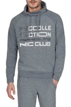 Свитшот Nic Club. Цвет: серый