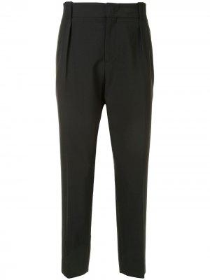 Укороченные брюки Wooyoungmi. Цвет: черный