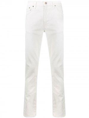 Джинсы Lean Dean Nudie Jeans. Цвет: белый