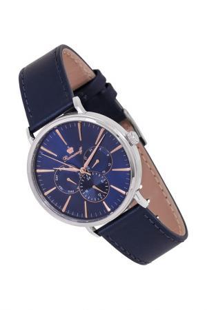 Часы наручные кварцевые ROMANOFF. Цвет: синий