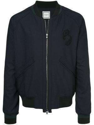 Куртка-бомбер Wooyoungmi. Цвет: черный